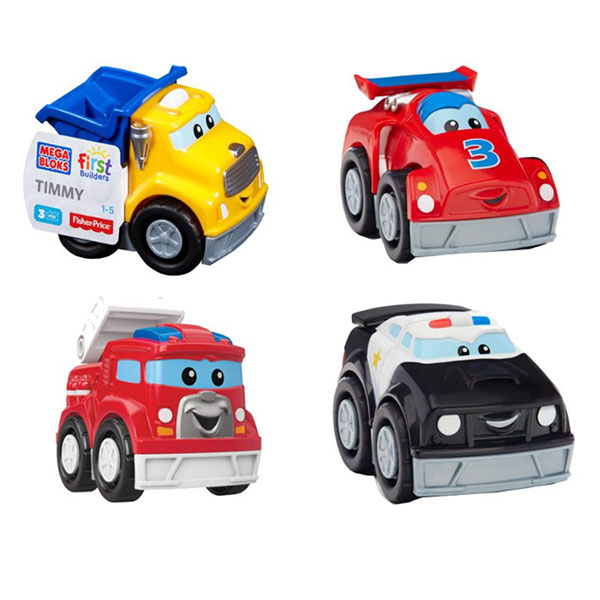 Mattel Mega Bloks CXN72 Мега Блокс Маленькие машинки (в ассортименте) маленькие машинки для шитья москва