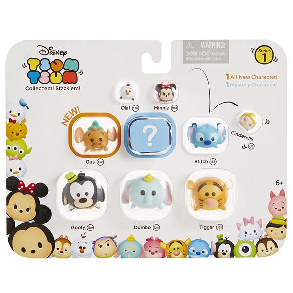 Tsum Tsum 997000 Фигурка коллекционная, упаковка из 9 шт
