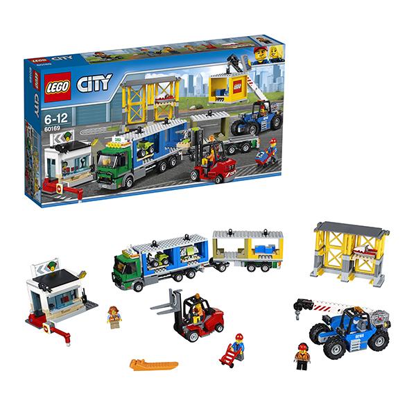 Lego City 60169 Конструктор Лего Город Грузовой терминал lego city 60110 лего город пожарная часть