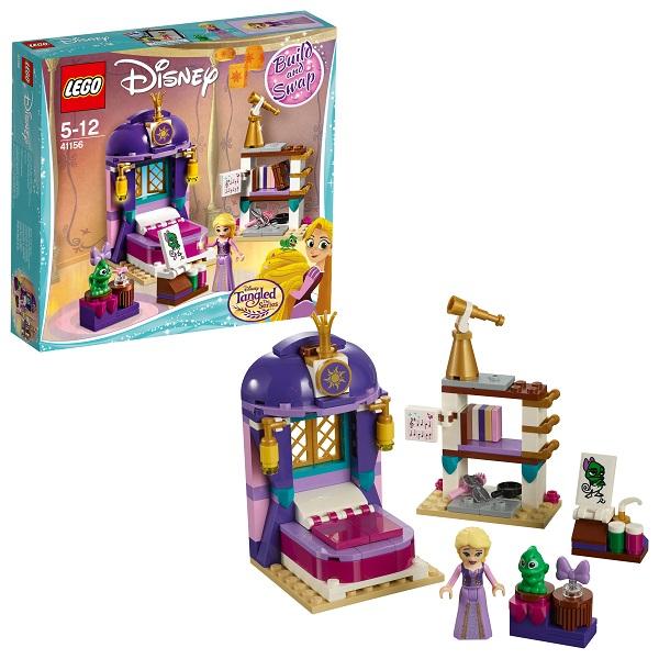 LEGO Disney Princess 41156 Конструктор Лего Принцессы Дисней Спальня Рапунцель в замке lego disney princess 41151 конструктор лего принцессы дисней учебный день мулан