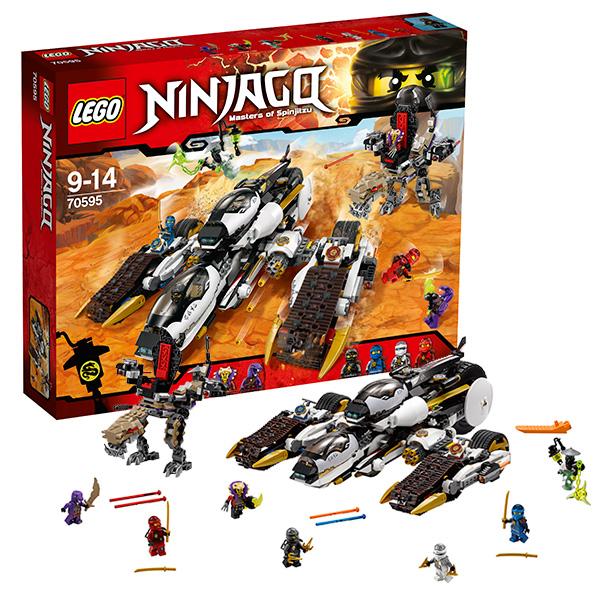 Lego Ninjago 70595_9 Лего Ниндзяго Внедорожник с суперсистемой маскировки