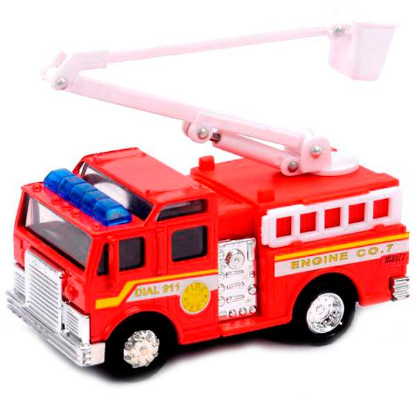 Фото - Soma 78048 Пожарная машина 12 см soma 78058 пожарная машина с лестницей 12 см