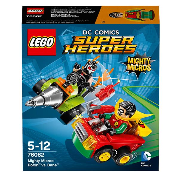 Lego Super Heroes 76062 Конструктор Лего Супер Герои Робин против Бэйна