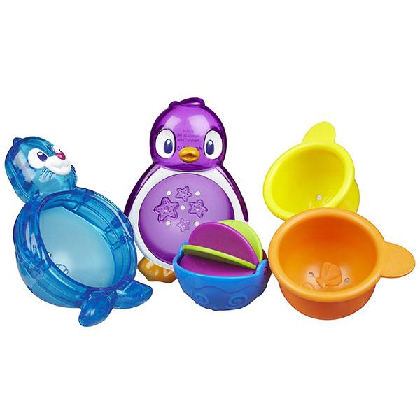 MUNCHKIN 11306 Игрушки для ванны Морские животные 2 шт игрушки для ванны babyono игрушки для ванной животные средние 4 шт