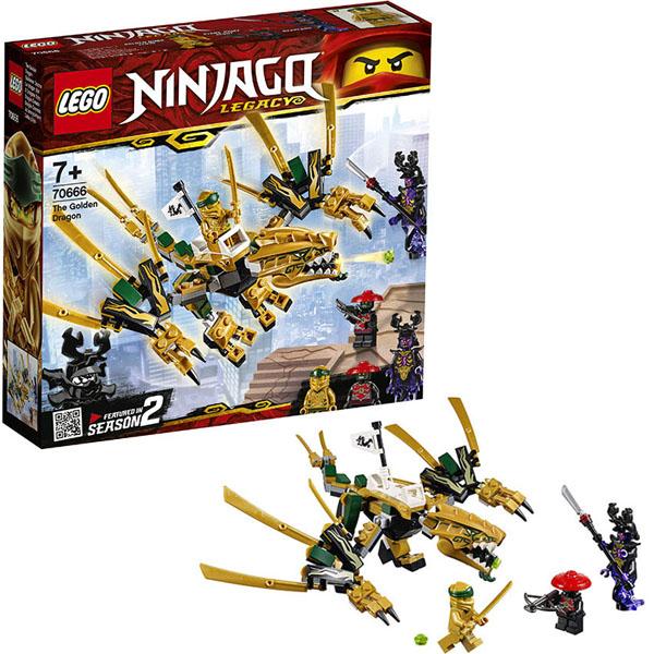 цена на Lego Ninjago 70666 Конструктор Лего Ниндзяго Золотой Дракон
