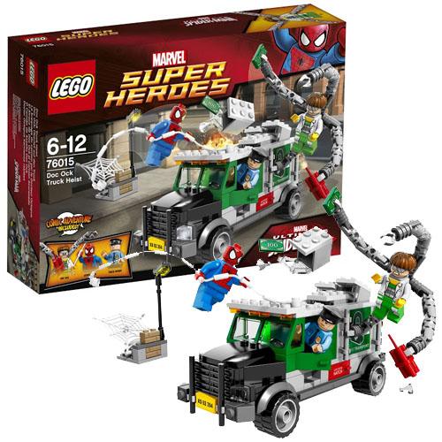 Lego Super Heroes 76015 Конструктор Лего Супер Герои Кража грузовика Доктора Осьминога