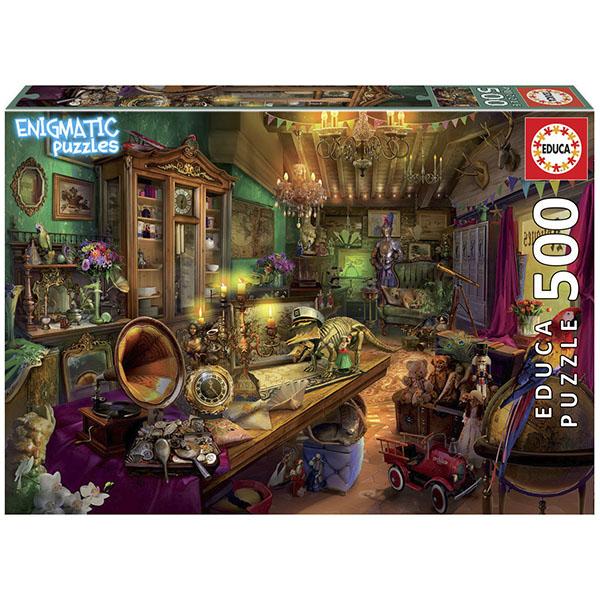 EDUCA 18480 Пазл 500 деталей Антикварный магазин
