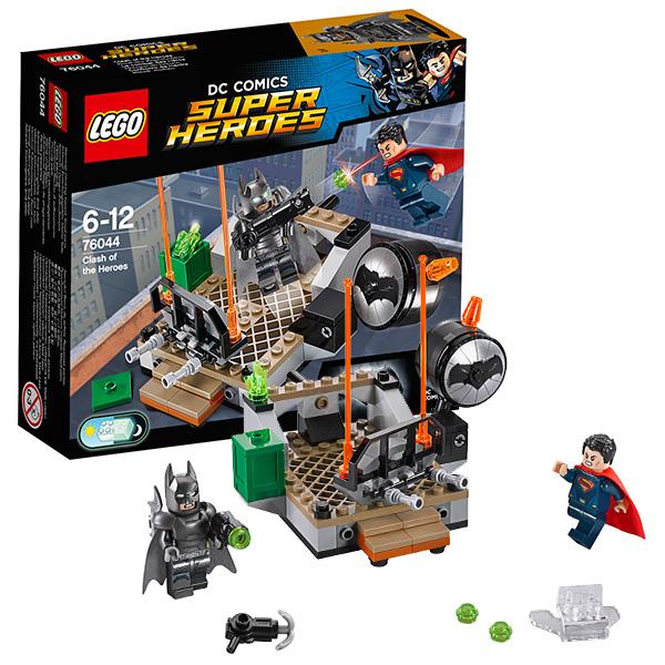 Lego Super Heroes 76044 Конструктор Лего Супер Герои Битва супергероев
