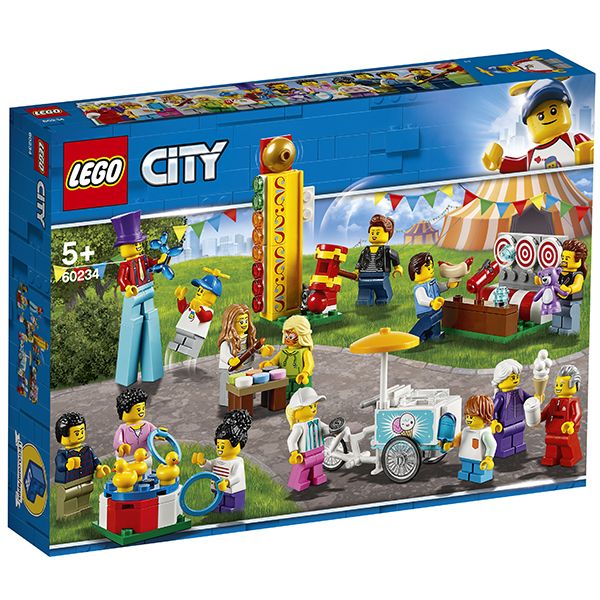 LEGO City 60234 Конструктор ЛЕГО Город Комплект минифигурок Весёлая ярмарка