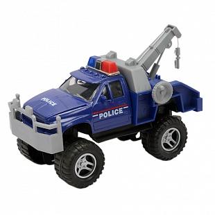 Soma 78868 Полицейский эвакуатор 18 см new bright ракетная установка на радиоуправлении new bright