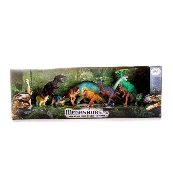Megasaurs SV10561 Мегазавры Игровой набор динозавров (11 штук)