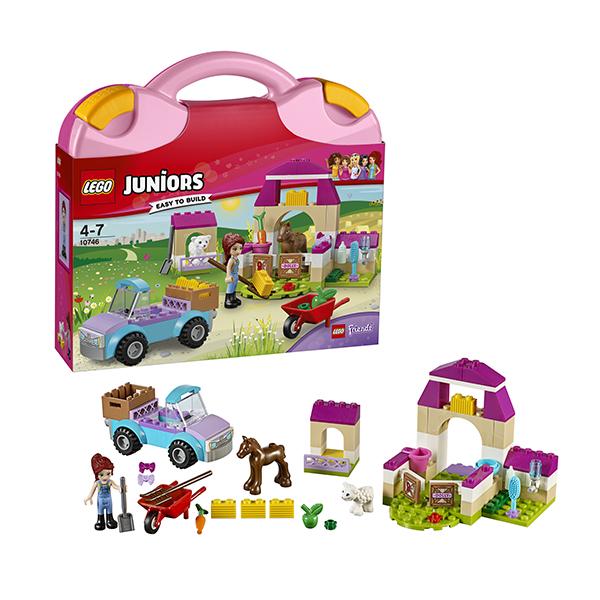 Lego Juniors 10746 Лего Джуниорс Чемоданчик Ферма Мии lego juniors 10739 лего джуниорс ниндзяго нападение акулы