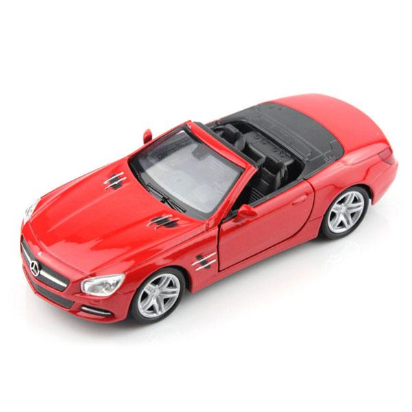 Welly 18046C Велли Модель машины 1:18 Mercedes-Benz SL500 welly 73152 велли модель машины 1 87 mercedes benz sl500