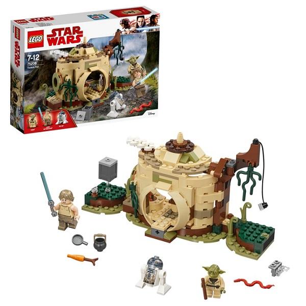 LEGO Star Wars 75208 Конструктор Лего Звездные Войны Хижина Йоды