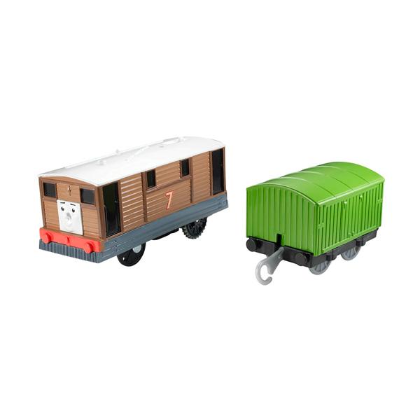Mattel Thomas & Friends CDB70 Томас и друзья Паровозик Тоби с вагоном