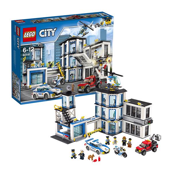 Lego City 60141 Конструктор Лего Город Полицейский участок город мастеров конструктор полицейский вертолет