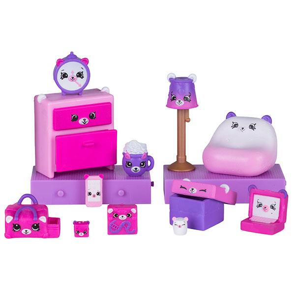 Happy Places 56392 Игровой набор для декора Пижамная вечеринка с мишками лагуна блю пижамная вечеринка дёшево