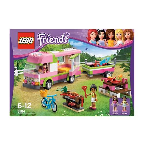 Лего Подружки 3184 Конструктор Оливия и домик на колёсах