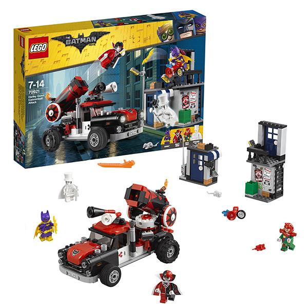 Lego Batman Movie 70921 Конструктор Лего Фильм Бэтмен: Тяжёлая артиллерия Харли Квинн lego batman movie блокнот бэтмен96 листов в линейку