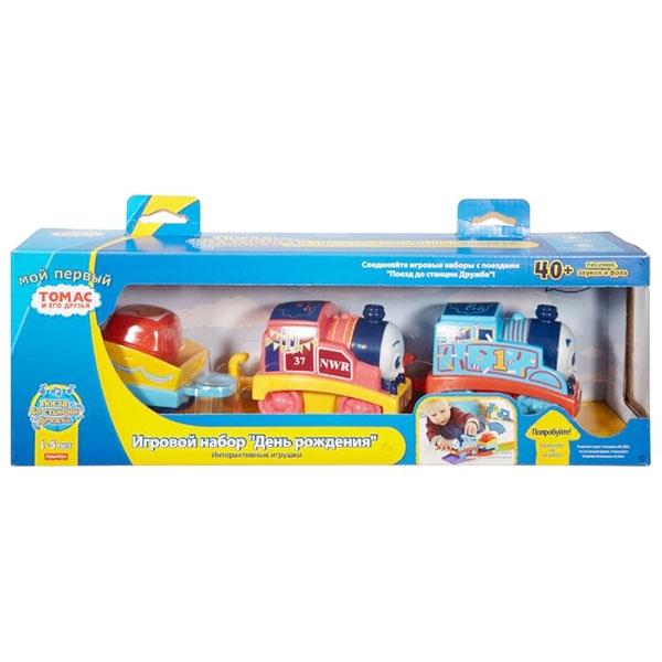 Mattel Thomas & Friends FKD90 Томас и друзья Мой первый Томас паровозики в мультиупаковке