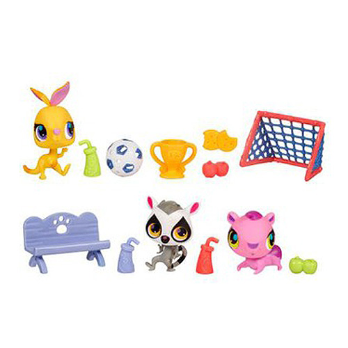 Hasbro Littlest Pet Shop 38048H Литлс Пет Шоп Игровой набор Приключения зверюшек