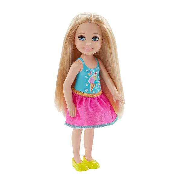 Mattel Barbie DWJ27 Барби Кукла Челси barbie мини кукла челси с молоком и печеньем