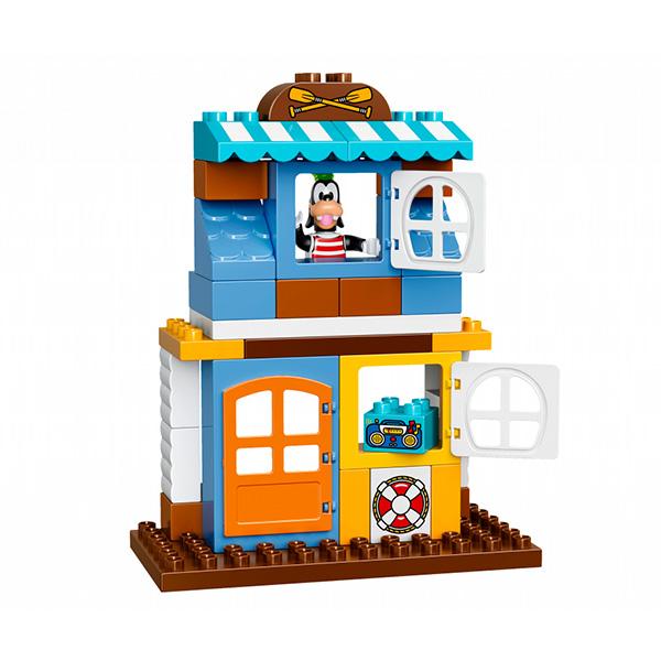 LEGO DUPLO 10827 Конструктор ЛЕГО ДУПЛО Домик на пляже