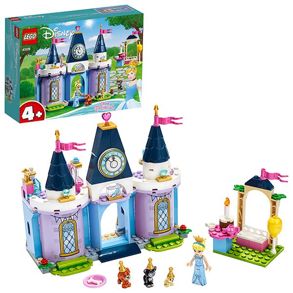 LEGO Disney Princess 43178 Конструктор ЛЕГО Принцессы Дисней Праздник в замке Золушки цена