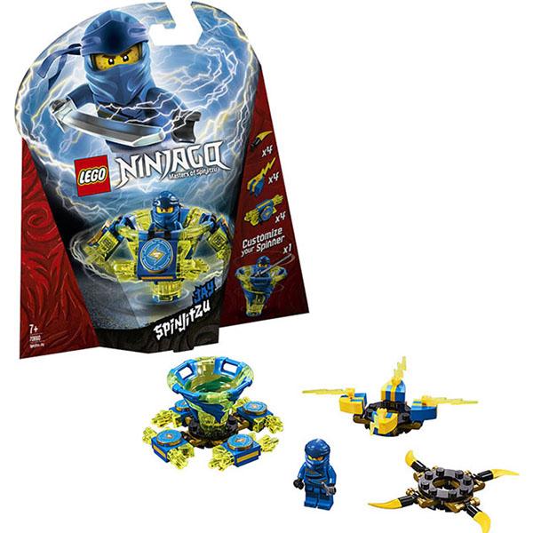 Lego Ninjago 70660 Конструктор Лего Ниндзяго Джей - мастер Кружитцу lego city 7895 конструктор лего город железнодорожные стрелки