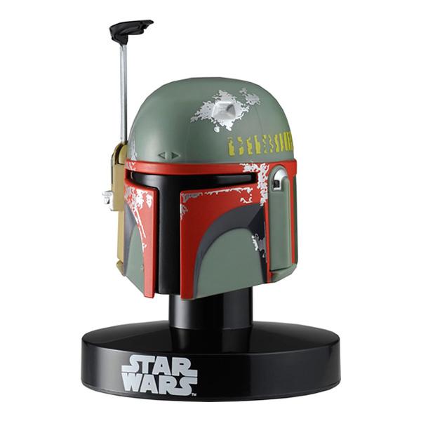 Star Wars Bandai 84632 Звездные Войны Шлем на подставке Боба Фетт 6,5 см