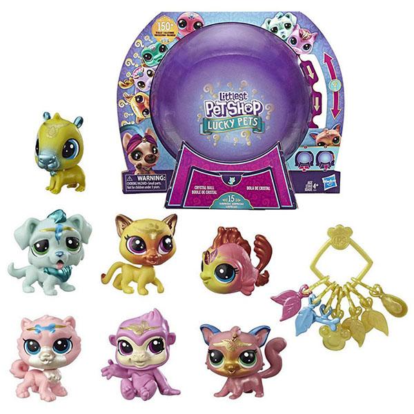 Hasbro Littlest Pet Shop E7412 Литлс Пет Шоп Подарочный набор Петы с предсказанием hasbro littlest pet shop c0795 литлс пет шоп радужная коллекция 7 радужных петов