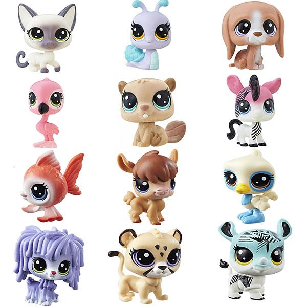 Hasbro Littlest Pet Shop B9388 Зверюшка (в ассортименте) фигурки игрушки littlest pet shop игрушка зверюшка