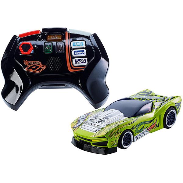 Mattel Hot Wheels FBL85 Хот Вилс Игрушка HW AI Р/у машинка и пульт для Умной трассы игровой набор hot wheels базовые трассы в ассортименте