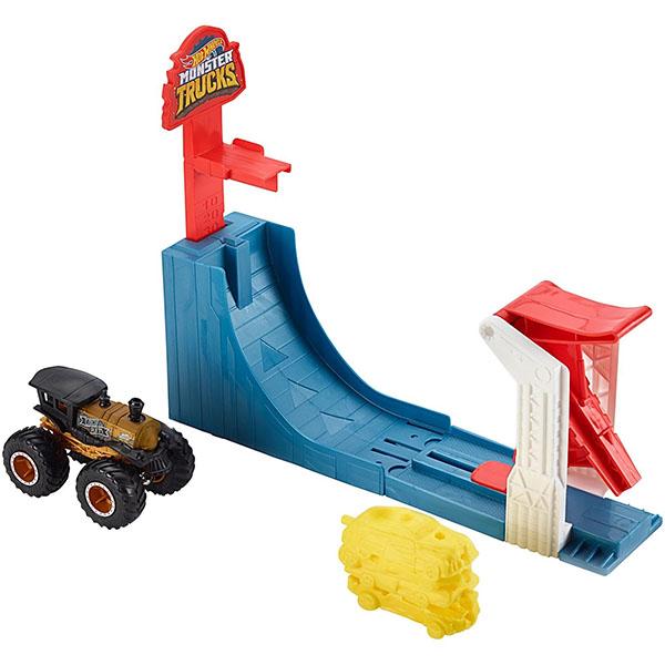 """Mattel Hot Wheels GCG00 Хот Вилс Игровой набор Монстр трак """"Поединок в воздухе"""" цена 2017"""