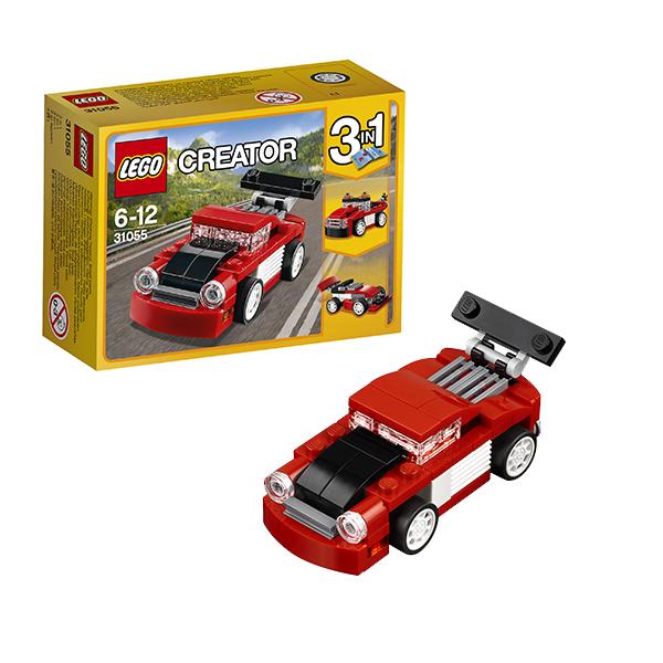 Lego Creator 31055 Лего Криэйтор Красная гоночная машина мозаика из страз гоночная машина