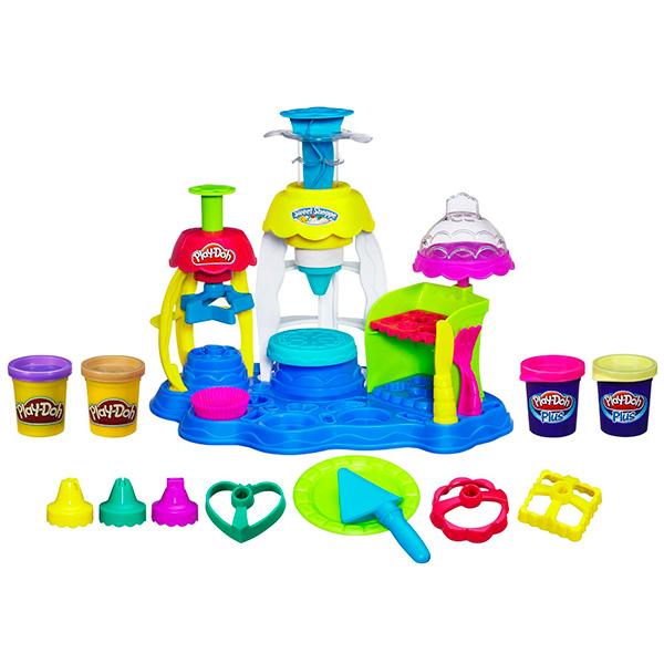 """Hasbro Play-Doh A0318 Игровой набор пластилина """"Фабрика пирожных"""""""