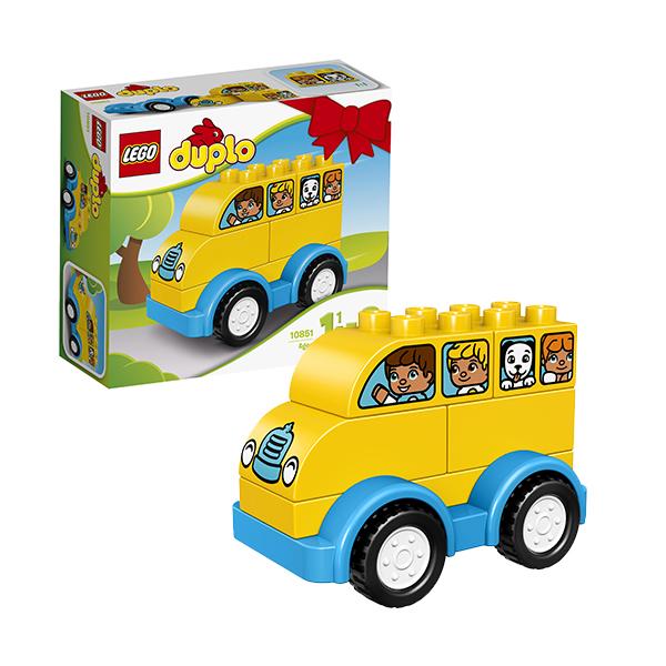 Lego Duplo 10851 Конструктор Лего Дупло Мой первый автобус lego duplo конструктор мой первый автобус 10603