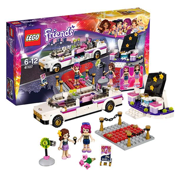 Конструктор Lego Friends 41107 Подружки Лимузин Звезды