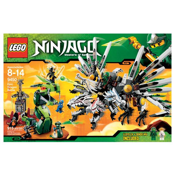 Lego Ninjago 9450 Конструктор Лего Ниндзяго Последняя битва