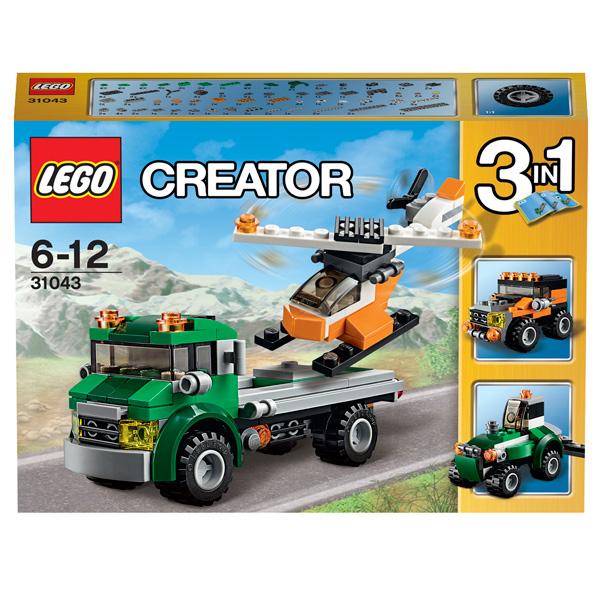 Конструктор Lego Creator 31043 Перевозчик вертолета