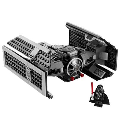 Lego Star Wars 8017 Конструктор Лего Звездные войны TIE Истребитель Дарт Вейдера