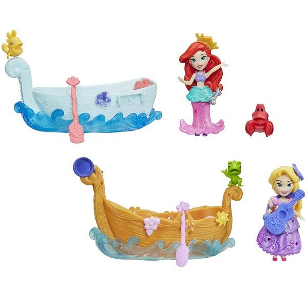 Hasbro Disney Princess E0068 Принцесса Дисней и лодка hasbro модная кукла принцесса в юбке с проявляющимся принтом принцессы дисней b5295 b5299