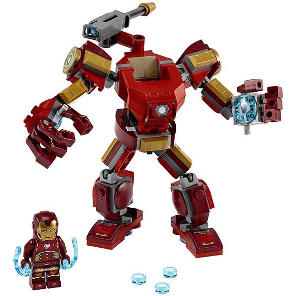 LEGO Super Heroes 76140 Конструктор ЛЕГО Супер Герои Железный Человек: трасформер
