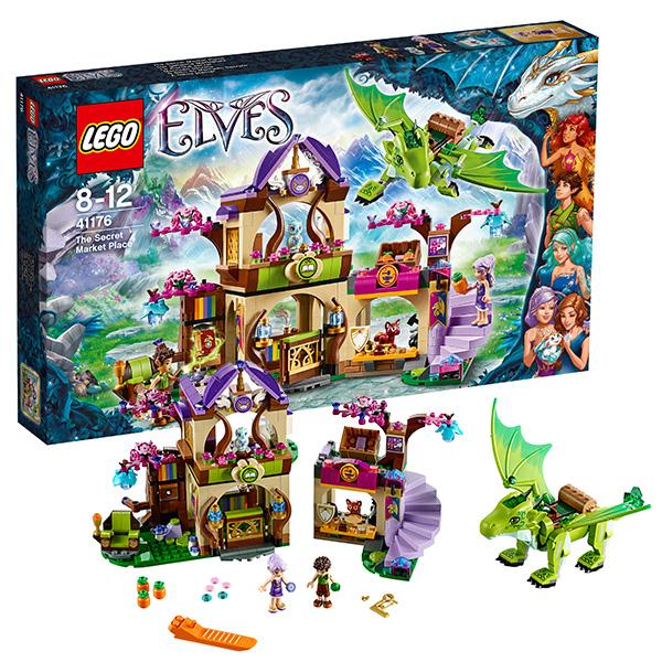 Lego Elves 41176 Конструктор Лего Эльфы Секретный рынок