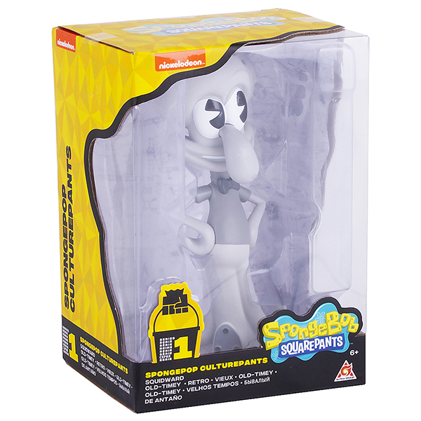 SpongeBob EU690703 Сквидвард ретро (пластик., 11,5 см)