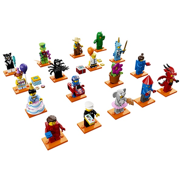 Lego Minifigures 71021 Конструктор Лего Минифигурки LEGO Юбилейная серия