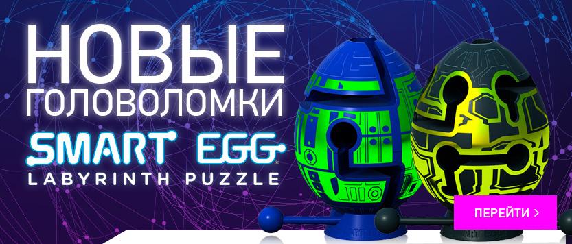 Новые головоломки Smart Egg Labyrinth Puzzle
