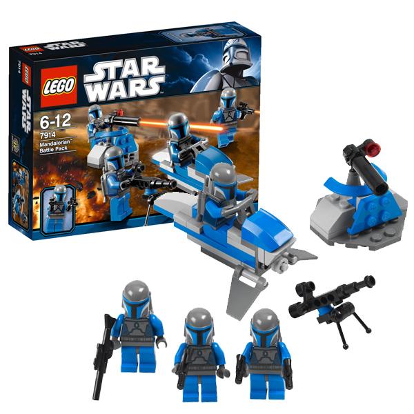 Lego Star Wars 7914 Конструктор Лего Звездные войны Боевой отряд Мэндэлориан