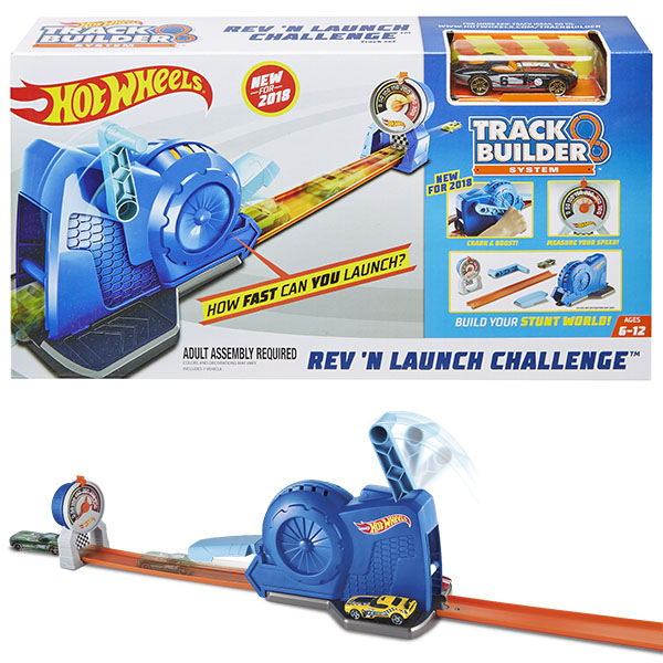 Mattel Hot Wheels FLL02 Хот Вилс Конструктор трасс mattel hot wheels dwk98 хот вилс трасса