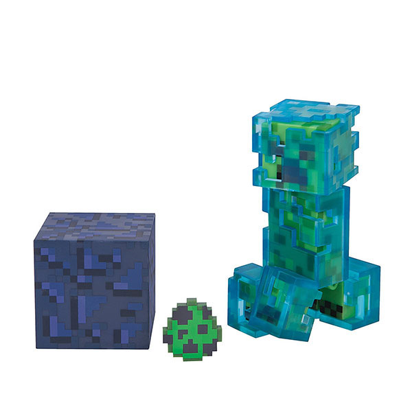 Фото - Minecraft 16476 Майнкрафт фигурка Charged Creeper minecraft фигурка minecraft steve with